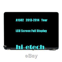 13 for Apple Macbook Pro Retina A1502 2013 EMC 2678 LCD Screen Assembly Display