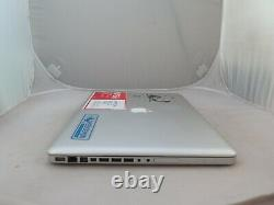 2010 17 Apple Macbook Pro 17 Mc024ll/a I5 2.53ghz 8gb As Is Screen 2 Lines