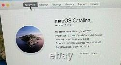 2012 Apple MacBook Pro 15 2.3Ghz i7 4GB RAM 128GB SSD Anti Glare Screen NICE