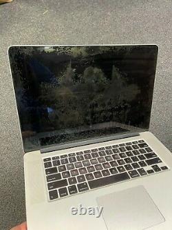 2013 Apple MacBook Pro 15 Retina i7 2.7GHz 16GB 512gb Screen Wear / Battery