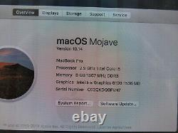 2015 Apple Macbook Pro 13 Mf841ll/a I5 2.9ghz 8gb 512gb As Is Screen Issue
