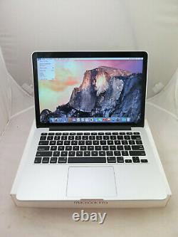 2015 Apple Macbook Pro Mf843ll/a 13.3 I7 3.1ghz 16gb 512gb As Is Screen Shadow
