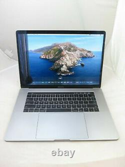 2016 Apple Macbook Pro Mlh32ll/a 15 I5 2.6ghz 16gb 256gb As Is Cracked Screen