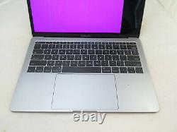 2017 Apple Macbook Pro Mpxq2ll/a 13 I5 2.3ghz 8gb 128gb As Is Read Screen Issue