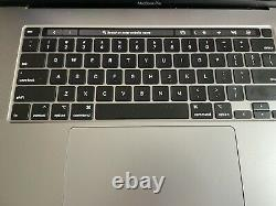 2019 16 Apple MacBook Pro 2.6GHz i7 6Core/16GB/512GB SSD 8 Bat. Cycles Laptop