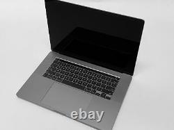 2019 16 MacBook Pro 2.4GHz i9 8-Core/64GB/4TB Flash/5500M 8GB/Space Gray