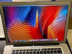 APPLE MACBOOK PRO 15 i7 UPGRADED 8GB RAM+1TB HD OS 2017. Anti-Glare Screen