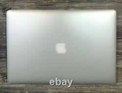 Apple MacBook Pro 15 2014 2.2GHz i7 16gb RAM 256gb SSD SCREEN Issue Dents