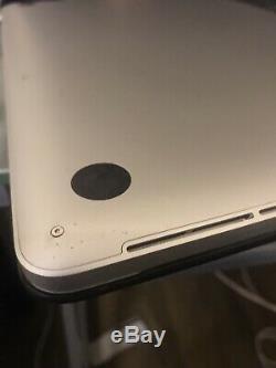 Apple MacBook Pro 15 2015 Retina, 2.2 i7, 16GB, Screen Issue Works Good