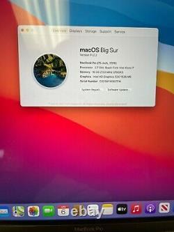 Apple MacBook Pro 15 (2016) Touch Bar i7 2.7GHz 16GB 512GB SSD Screen Wear