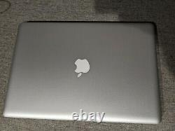 Apple MacBook Pro 15.4 Laptop MD104LL Mid 2012 2.6ghz 8gb 250gb SSD SCREEN LINE