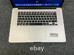 Apple MacBook Pro 15 Retina (2012) i7 2.3GHz 8GB 256GB ALT KEYS/SCREEN WEAR