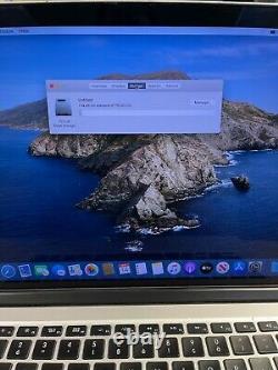 Apple MacBook Pro 15 Retina (2012) i7 2.6GHz 16GB 768GB Alt Keys/Blue Screen