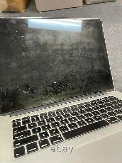 Apple MacBook Pro 15 Retina (2014) 2.2Ghz i7 16GB 512GB Screen Wear / Battery