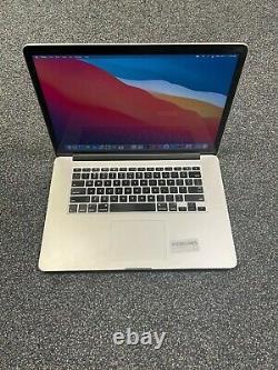 Apple MacBook Pro 15 Retina (2014) 2.8GHz i7 16GB 128GB SSD Screen Wear