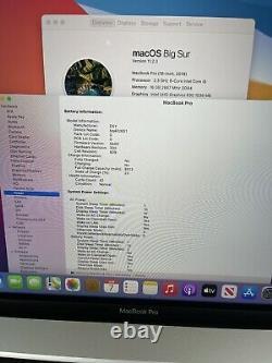 Apple MacBook Pro 16-inch 2019 2.3 GHz Intel core i9 1TB SSD 16GB RAM + Warranty