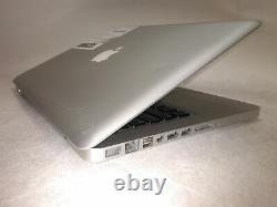 Apple MacBook Pro A1278 2010 13 Core 2 Duo 2.4GHz 4GB 0HD Screen Issues AS-IS