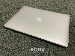 Apple MacBook Pro Retina 15 2013 2.0GHz i7 8GB Cracked Screen Lcd Bad Battery Y