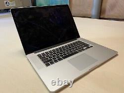 Apple MacBook Pro Retina 15.4 2013 I7 2.4ghz 8GB DGPU Cracked Screen A1398