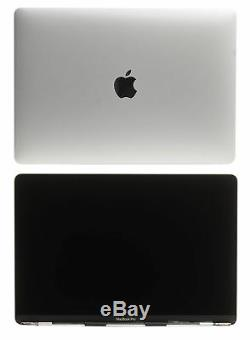 Apple MacBook Pro Retina 15 A1707 2016-17 LCD Screen Assembly 661-06376 Silver
