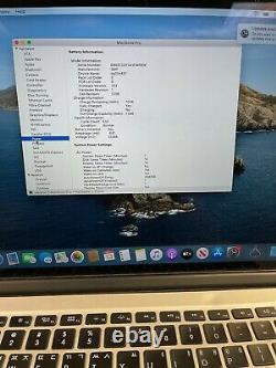 Apple MacBook Pro Retina 15 (Mid 2014) i7 2.5GHz 16GB 512GB Screen Wear / Keys