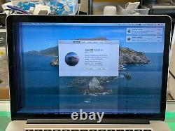 Apple Macbook Pro 15 A1398 DG Retina 2014 i7 2.5GHz 512GB 16GB Cracked Screen