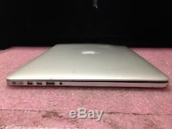 Apple Macbook Pro A1398 2015 Intel i7 16GB RAM No HDD No OS Bad Screen LP911