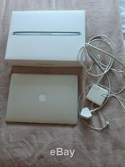 Apple macbook pro A1502 i5 mid 2014 13.3 screen(damaged) 2.6 GHz (8GB)128SSD