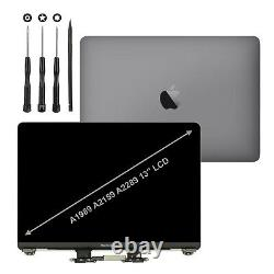 Grey MacBook Pro 13 A2289 A2159 A1989 2018/19 2020 LCD Screen Replacement