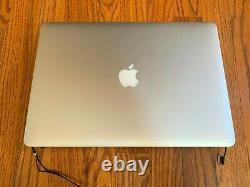 Late 2013-2014 a1398 Macbook Pro Retina Screen Assembly Functional but coating