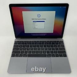 MacBook 12 Space Gray 2017 1.4GHz i7 16GB 512GB Good Condition Screen Wear