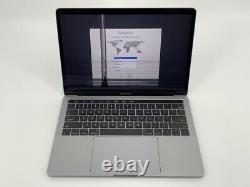 MacBook Pro 13 Touch Bar Gray 2017 3.1GHz i5 8GB 256GB SSD Cracked Screen
