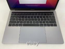MacBook Pro 13 Touch Bar Gray Late 2016 2.9GHz i5 8GB 256GB Good Screen Wear
