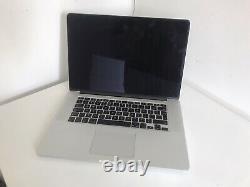 MacBook Pro 15 Mid 2015 Intel i7 2.5Ghz 16GB 500GB AMD Radeon R9 (Broken Screen)