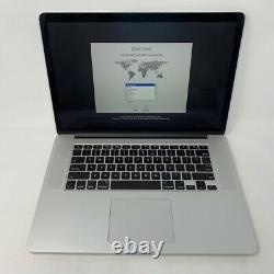 MacBook Pro 15 Retina Mid 2015 2.5GHz i7 16GB 512GB Good Condition Screen Wear