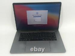 MacBook Pro 15 Touch Bar Gray 2016 2.9GHz i7 16GB 512GB SSD Good Screen Wear