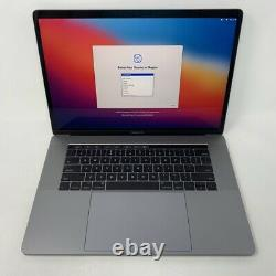MacBook Pro 15 Touch Bar Gray 2017 2.9GHz i7 16GB 512GB Excellent -Screen Wear