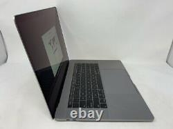 MacBook Pro 15 Touch Bar Space Gray 2018 2.6GHz i7 16GB 512GB SSD Screen Wear
