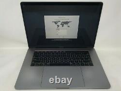 MacBook Pro 15 TouchBar Space Gray 2018 2.9GHz i9 32GB 512GB Cracked Screen