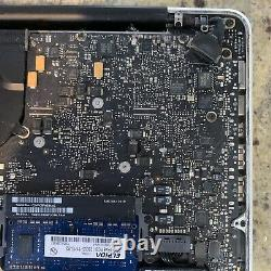 Macbook Pro Mid 2012 13 For Parts Only No Hard Drive, Broken Screen