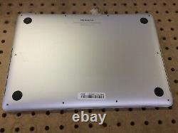 Macbook Pro Retina 13 2015 A1502 MF839LLA i5-2.7GHz 128GB SSD 8GB no screen