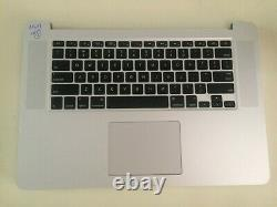 Macbook Pro Retina 15 A1398 2015 i7-2.5GHz 16GB NOScreen/SSD/Charger READ