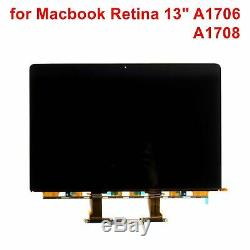 New LCD LED Display Screen for MacBook Pro Retina 13 A1706 A1708 2016-2017 Year