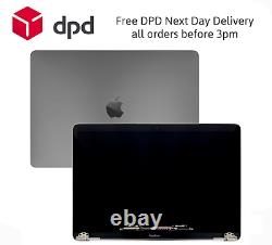 Replacement MacBook Pro M1 2020 A2338 LCD Screen Display Assembly Space Grey